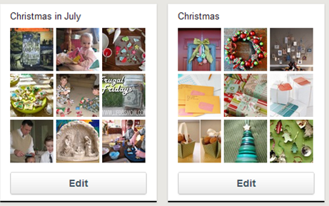 Using Pinterest to Plan Your Christmas
