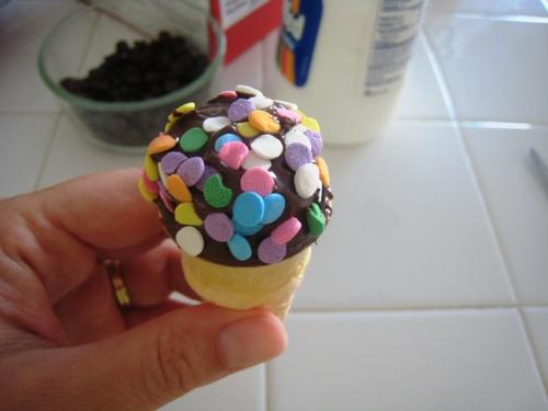 Mini Smores Cones (URS: Dessert)