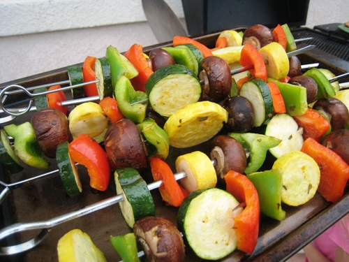Vegetable Kabobs 3