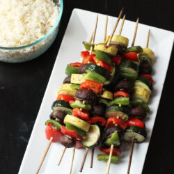 Grilled Vegetable Kabobs – Easy on the Summer Cook
