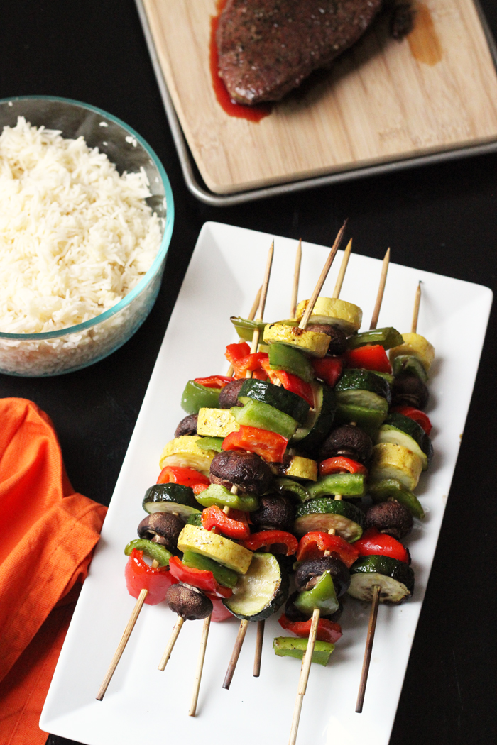 Grilled Vegetable Kabobs - Easy on the Summer Cook | Life as Mom
