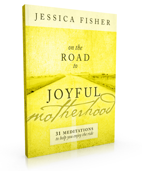 On the Road to Joyful Motherhood is a compilation of 31 devotions to help you enjoy this ride. They are ideas I've shared before packaged in a way that is easily accessed, complete with journal questions to help you process your life as mom.