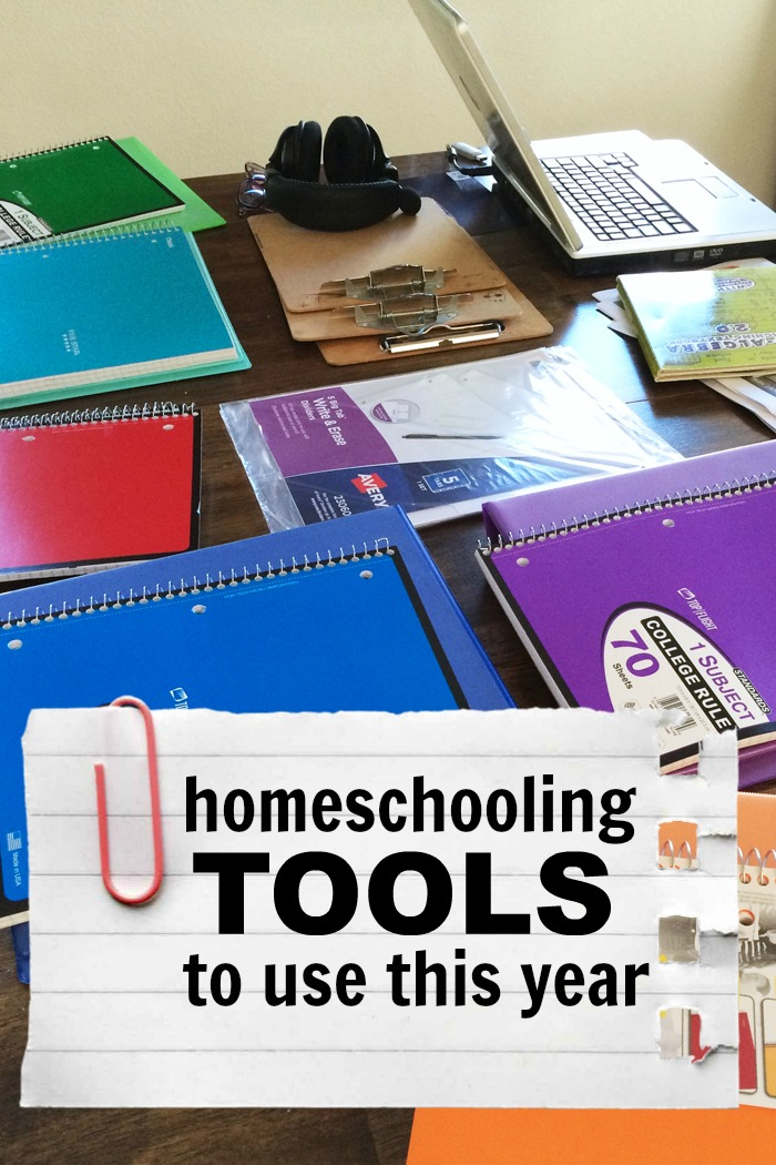 Homeschooling Tools to Use This Year | Life as Mom