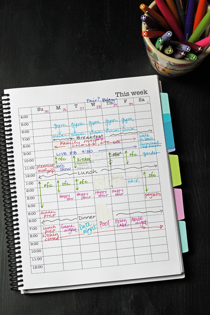 How to Make a Personal Planner that Rocks | Life as Mom