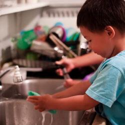 How Chores & a School Schedule Mix