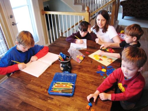 homeschool family