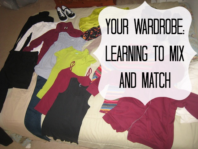 Your Wardrobe: Learning to Mix and Match