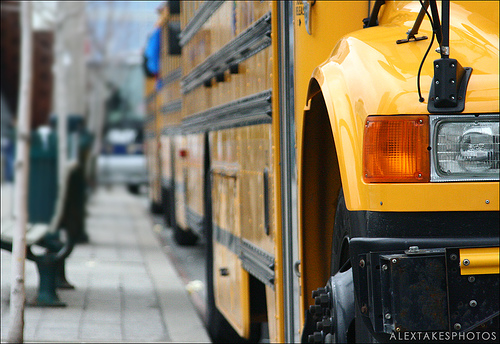 school bus alex grant