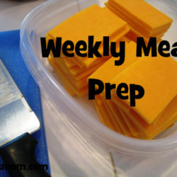 Meal Planning: Weekly Meal Prep (& a FREE Planning Page)