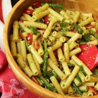 Vegetable Pasta Salad with Pesto