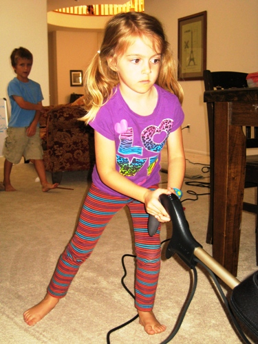 Chores and Kids: What can you ask of them - Got kids? Are you including them in the workings of the household and teaching them important life skills?