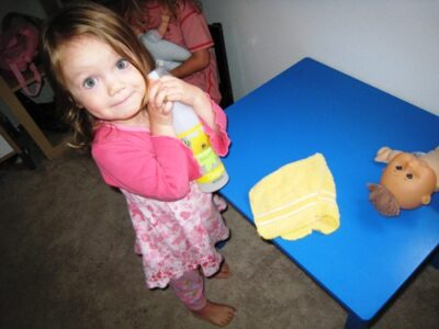 Delegating Household Tasks to Younger Children