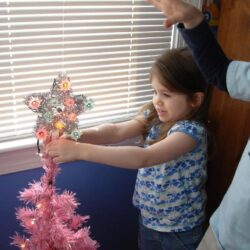 Trimming the Tree with Children (12 Days of Christmas Family Fun)