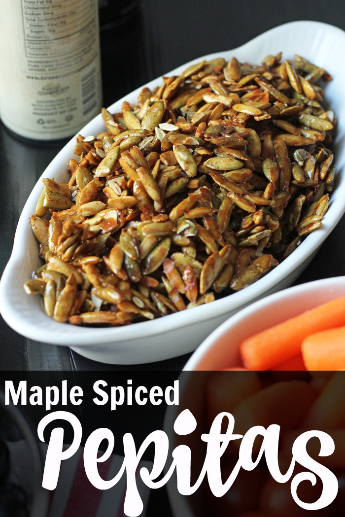 Maple Spiced Pepitas | Life as Mom