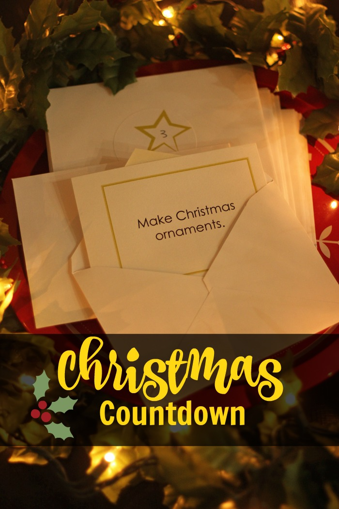 A Christmas Countdown Family Activity | Life as Mom