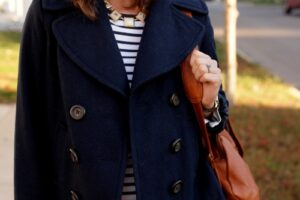 jq blue pea coat