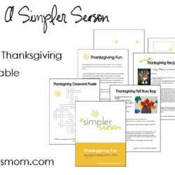 Thanksgiving Fun (& a FREE Printable)