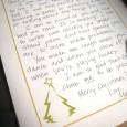 handwritten christmas letter