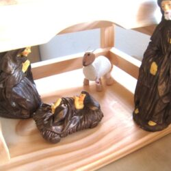 nativity wood