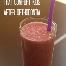 Foods that Comfort Kids After Orthodontia