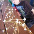 marshmallow spaghetti structures