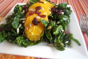 Spinach Salad with Oranges