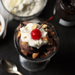 Triple Chocolate Sundaes