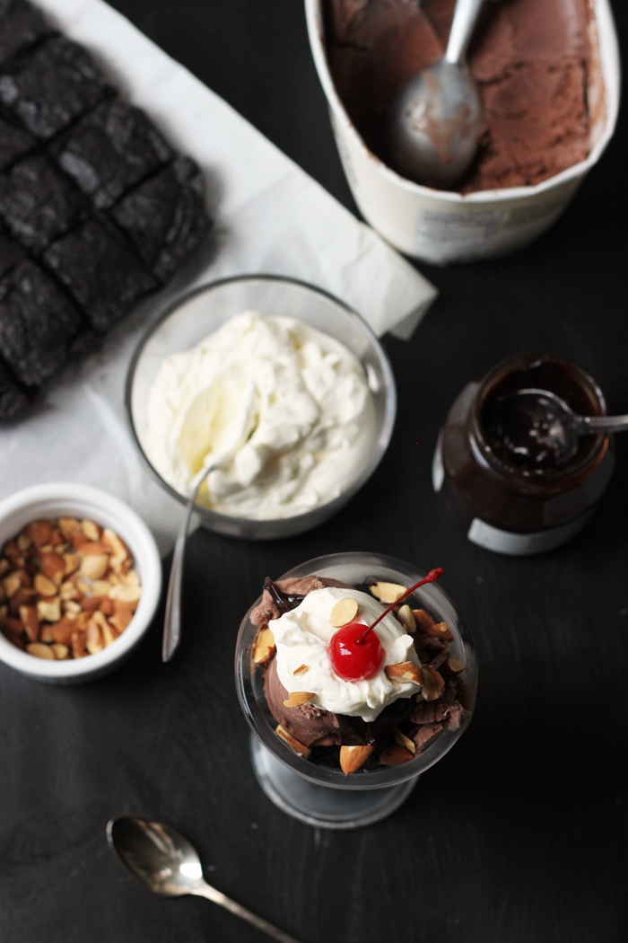 Triple Chocolate Sundaes | Life as Mom
