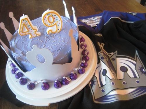 Terrific La Kings Hockey Birthday Cake A Birthday Cake Round Up Personalised Birthday Cards Petedlily Jamesorg
