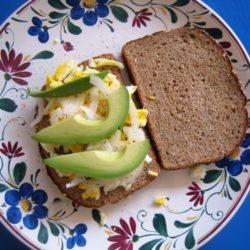 Avocado and Egg Breakfast Sandwich (URS: Breakfast)