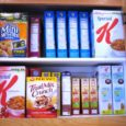 boxed cereal cupboard