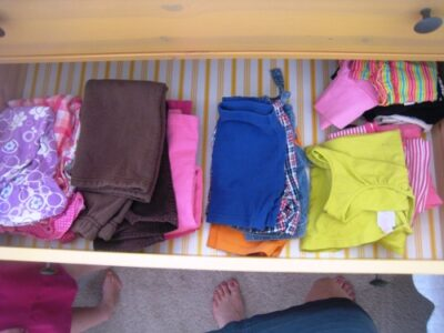 Sorting and Storing Kids' Clothes (Zone Defense)