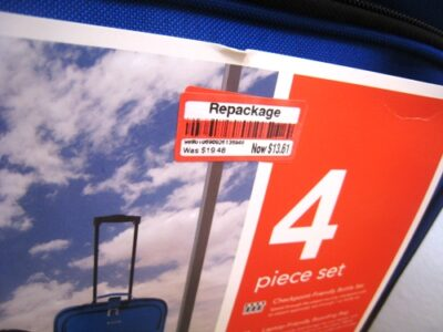 luggage clearance tag