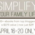 simplify your family life