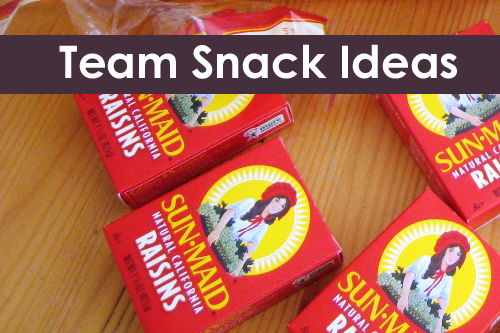 What to Take for Team Snack | Life as MOM