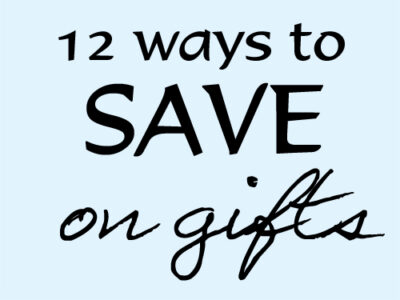 12 Ways gifts