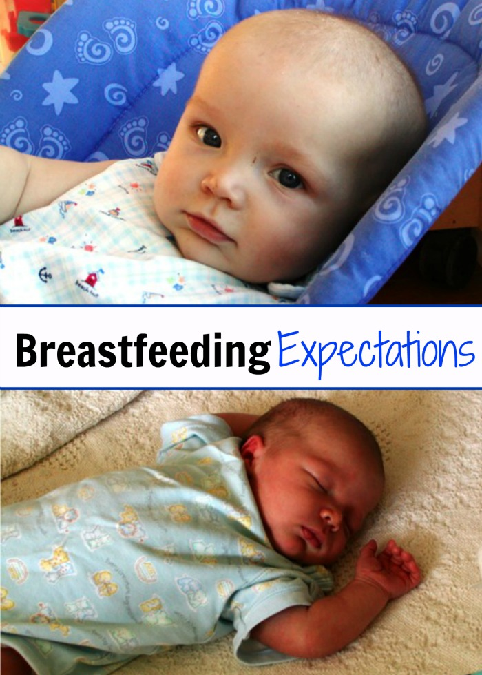 Breastfeeding Expectations Plus My Story of Nursing 6 Babies