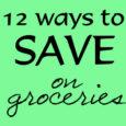 12 Ways Groceries