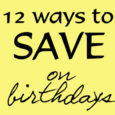 12 Ways birthdays