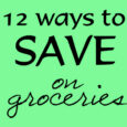 12 Ways on groceries