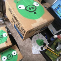 angry birds targets
