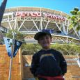 boy at petco park