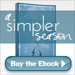 A Simpler Season - printable pages for Kindle version