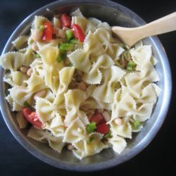 cannellini pasta salad mixed