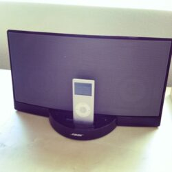 docking station and ipod