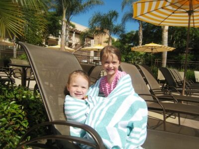 grand pacific girls by pool