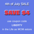 july 4 sale button copy