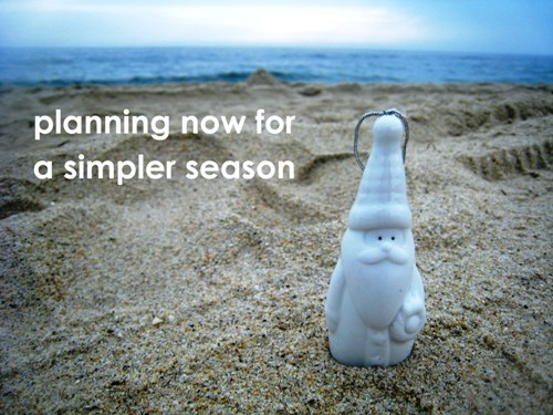 simpler season santa in the sand