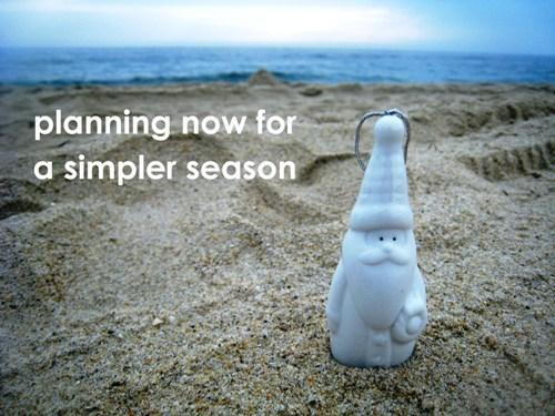 simpler season santa in the sand