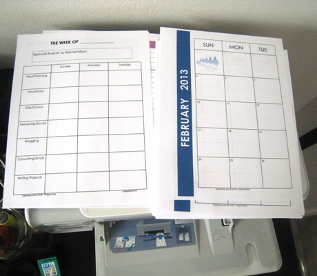 Time to Reset Your Household Notebook!